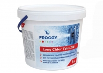 Long Chlor Tabs 200 Froggy 5 кг