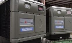 Тепловой насос для бассейна однофазный ElectroHeat Plus MKIII 25 кВт Waterco