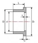 Фланцевый адаптер 90мм Gemas