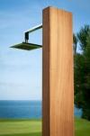 Душ для бассейна TROPIC in Iroko Wood
