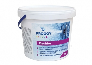 Dechlor Froggy 5 кг- Химия для бассейна